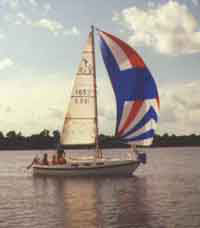 Training Sail Boat